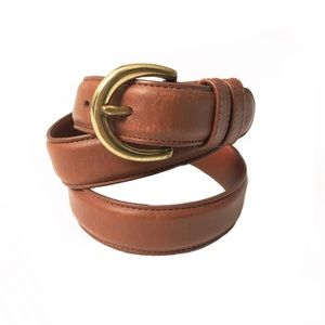 Coach Leather Waist Belt
